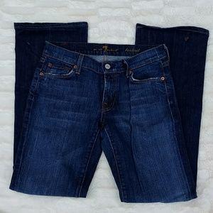 7FAM Boot Cut Blue Jeans